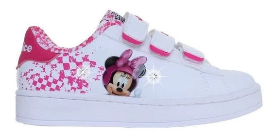 Zapatillas Minnie Disney Addnice Con Luces Baby Fty Calzados