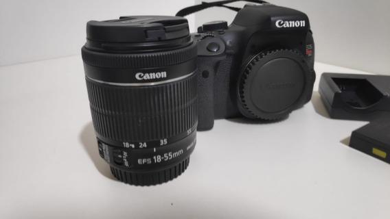 Kit Câmera Canon Eos Rebel T6i + Lentes