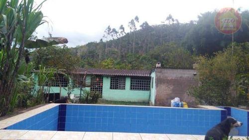 Sítio Com 2 Dormitórios À Venda, 30000 M² Por R$ 260.000,00 - Zona Rural - Itariri/sp - Si0014