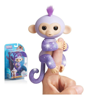 Fingerlings Monkeys Original Monito Únicos Brillante! El Rey