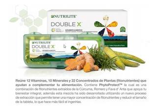 Multivitaminico Doble X Nutrilite Vitaminas Minerales.