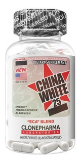 China White 25 Termogênico - Clone Pharma