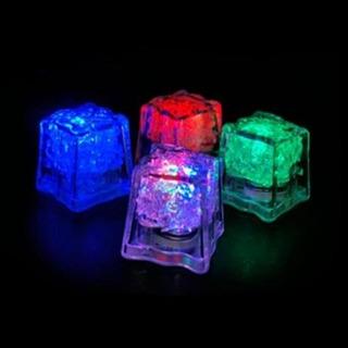 Gelo Led Pisca Colorido Enfeites Para Decorar Drinks - 5 Un