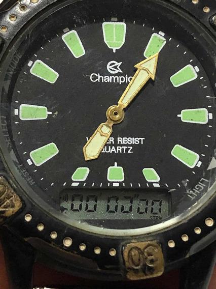 Relógio Champion Anadigi Anos 80