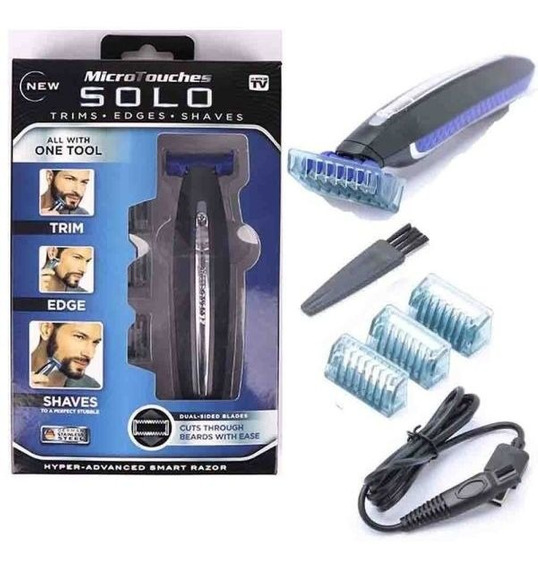 Mini Afeitadira Electrica Micro Touch Solo