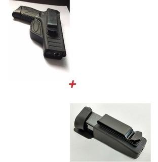 Coldre Polímero Velado Taurus G2c Destro + Porta Carregador