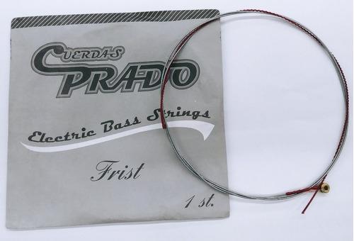 Imagen 1 de 1 de Cuerda 1a Para Bajo Eléctrico Entorch Niquel Prado