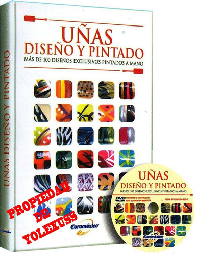 Imagen 1 de 3 de Libro Uñas Diseño Y Pintado-original