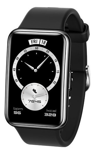 Imagen 1 de 10 de Smartwatch Huawei Watch Fit Edición Elegant, Amoled, Negro
