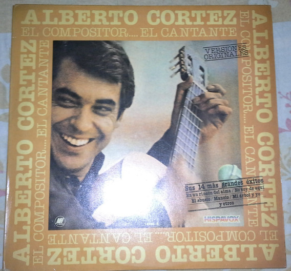 Disco De Vinilo Alberto Cortez 1981