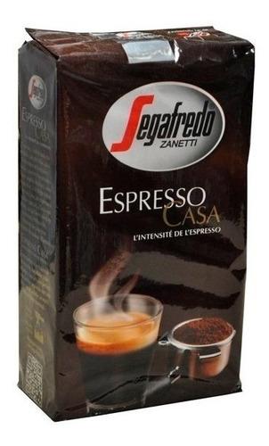 Imagen 1 de 5 de Cafe Molido 250gr Espresso Casa Segafredo Italiano Tostado