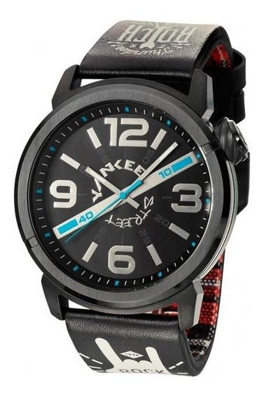 Relógio Yankee Street Masculino Rock - Ys30425p - Cor Preto