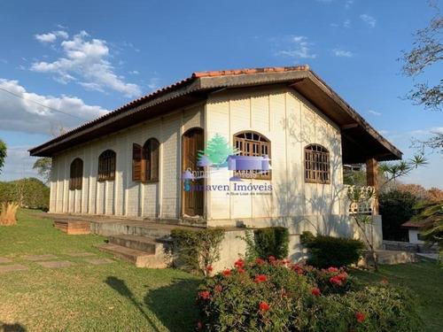 Chácara Para Residir Em Atibaia - Sp - Escriturada Com 3101,00 Metros Quadrados - Ch00755