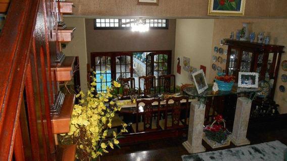 Sobrado Com 4 Dormitórios À Venda, ( Com Piscina) 234 M² Por R$ 1.400.000 - Centro - São Bernardo Do Campo/sp - So0142