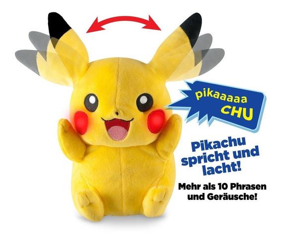 Pokemon My Friend Pikachu Tomy Importado Com Som E Luzes