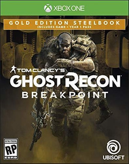 Tom Clancys Ghost Recon Breakpoint Steelbook Gold Edition Xb