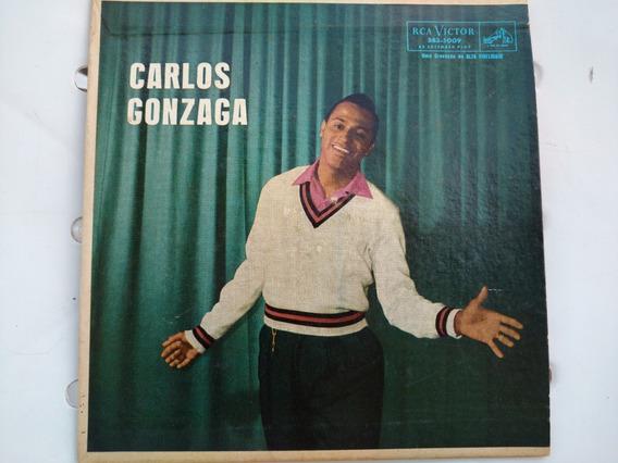 Compacto Carlos Gonzaga 45 Rpm Rca Louco Amor Rock 50