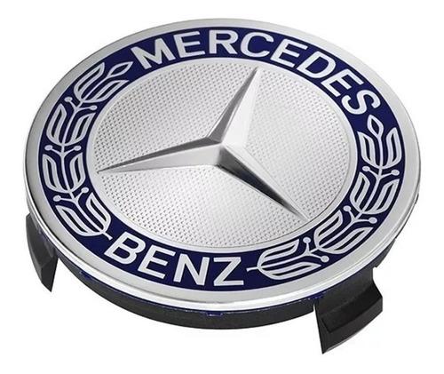 Centro Copa Rin Tapa Mercedes Benz A C E Ml Slk Amg Emblema