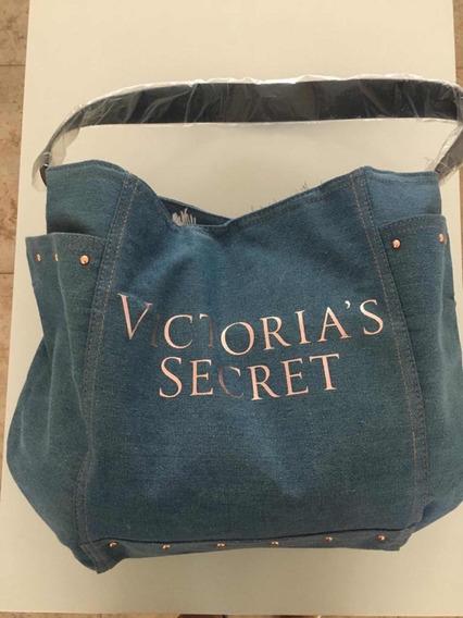 Bolso Victoria Secret ( Jean ) Traído Eeuu , Nuevo