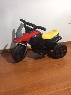 ¡aprovecha! Moto Montable De Juguete Con Batería Recargable