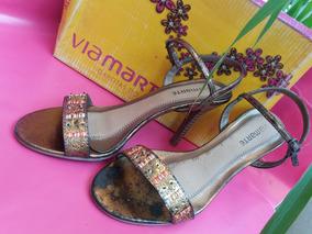 05339dca42 Sandalia Via Marte Coleção Garotas Do Brasil - Sapatos no Mercado ...