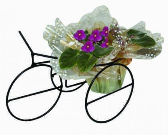 Suporte De Bicicleta De Enfeite Para Violeta