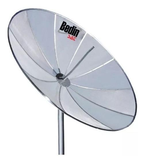 Antena Parabolica Tela 1,90 Metros Bedin Sat