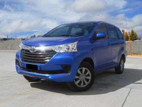 Toyota Avanza 1.5 Premium 99hp Mt 2016 Azul