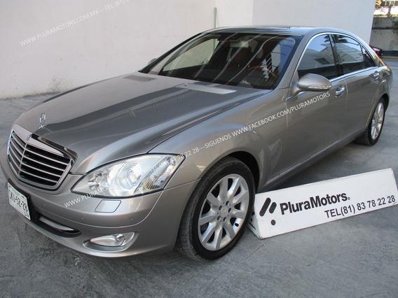 Mercedes Benz 2008 S500l Aut. Piel Quemacocos Dvd $329,000