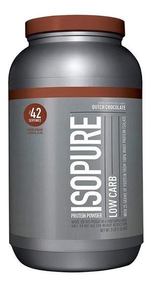 Ns Isopure Zero Carb 21 Serv 3lb Choco - L a $53517