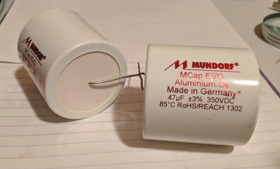 Par De Capacitor Mundorf Evo Oil 47uf X 350v