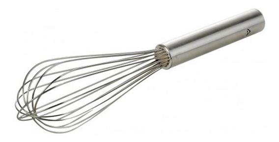 Batidor Profesional Acero Inoxidable 30 Cm - Whiskspro ®