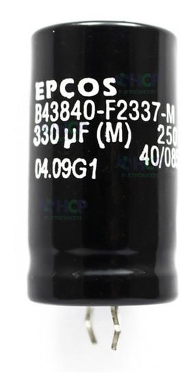 Capacitor Eletrolítico 330uf 250v *330uf Epcos Original