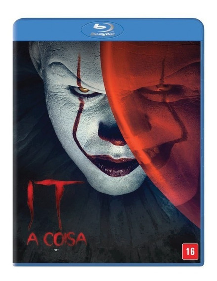 Blu-ray It A Coisa (2017) Stephen King Original Lacrado