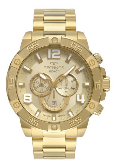 Relógio Technos Masculino Dourado - Os2abn/4x
