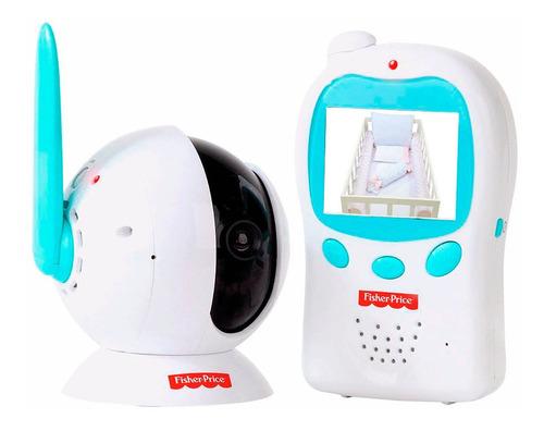 Babá Eletronica Com Camera E Monitor Fisher Price Bb300