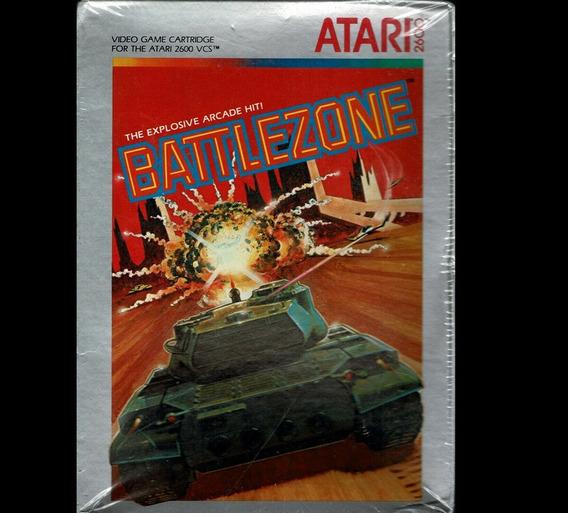 Atari Jogo Battlezone Guerra 2600 Lacrado Cartucho Ano 1989