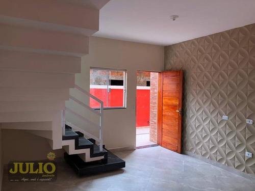 Imagem 1 de 21 de Sobrado Com 2 Dormitórios À Venda, 65 M² Por R$ 189.000,00 - Cibratel Ii - Itanhaém/sp - So0883