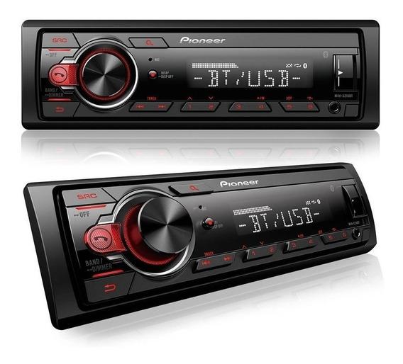 Radio Automotivo Mp3 Usb Bluetooth Pioneer Som Veicular 23w