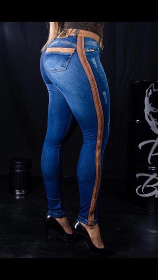 Calças Jeans Femininas Estilo Pit Bull Do 38 Ao 44 (luiz)