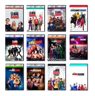 La Teoria Del Big Bang Theory Serie Completa Temp. 1-12 Dvd
