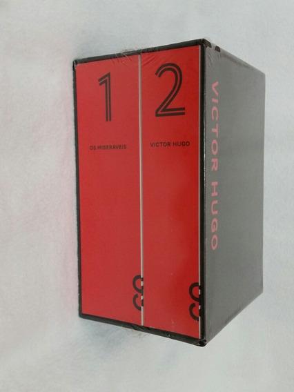 Box Livro Os Miseráveis Victor Hugo Cosac Naify Lacrado
