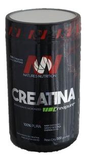 Creatina 500g Creapure Monohidratada Natures Nutrition