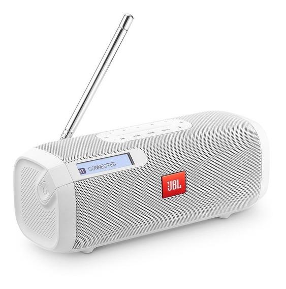 Caixa De Som Portátil Jbl Tuner Fm Com Bluetooth Branca