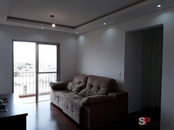 Apartamento A Venda No Bairro Lauzane Paulista Em São Paulo - 17335-1