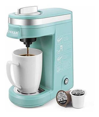 Cafetera Individual De 12 Onzas Chulux, Operacion De Un Boto