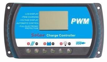 Controlador De Carga 40a Solar Digital Led Hi Quality Pwm