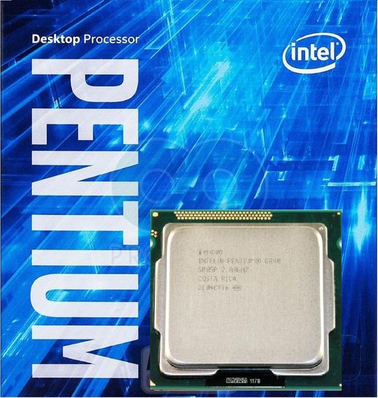 Pentium Intel Dual Core G-840 Desktop 1155 2.80 Ghz + Cooler
