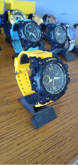 Relógio Casio G-shock Masculino Amarelo E Preto
