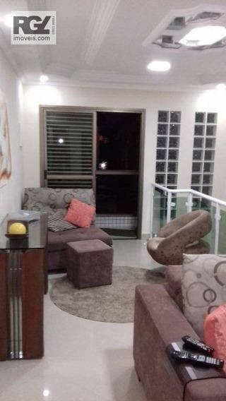 Casa Com 3 Dormitórios À Venda, 86 M² Por R$ 300.000 - Vila Nova - Cubatão/sp - Ca0616